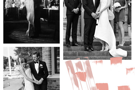 Mariage chic et sobre d'Elin Kling