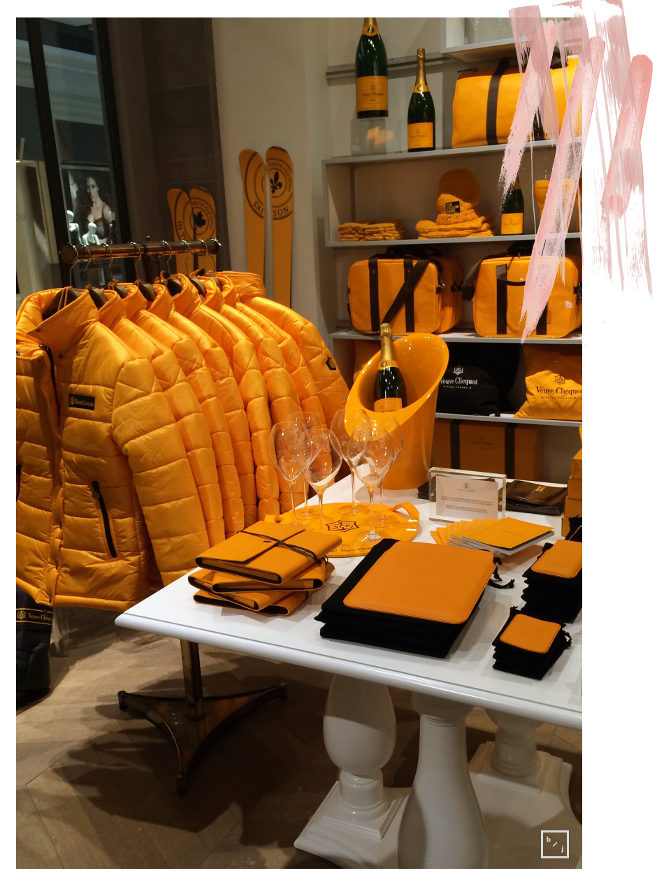 Boutique pop-up Veuve Clicquot