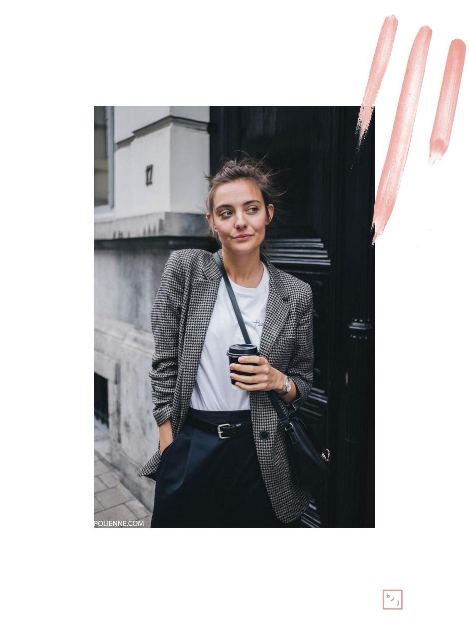 Le Blogue de Julie Tendance Blazer carreaux 1