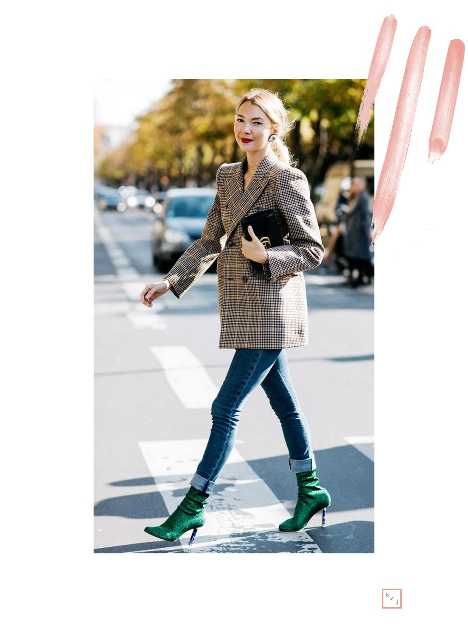 Le Blogue de Julie Tendance Blazer carreaux 12