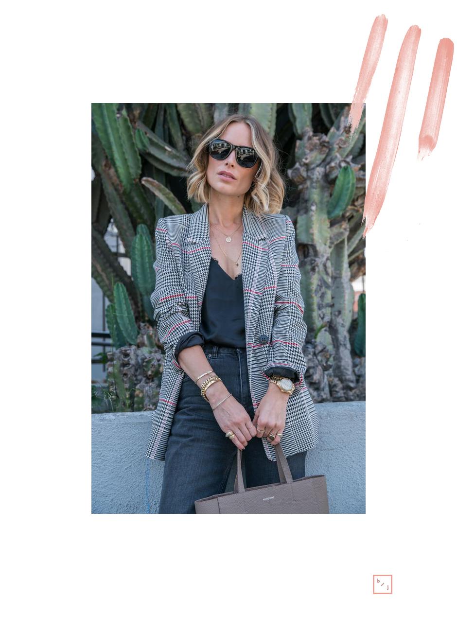 Le Blogue de Julie Tendance Blazer carreaux 2
