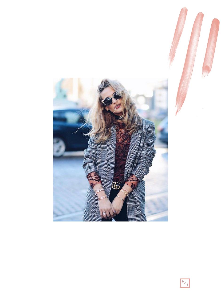 Le Blogue de Julie Tendance Blazer carreaux 5