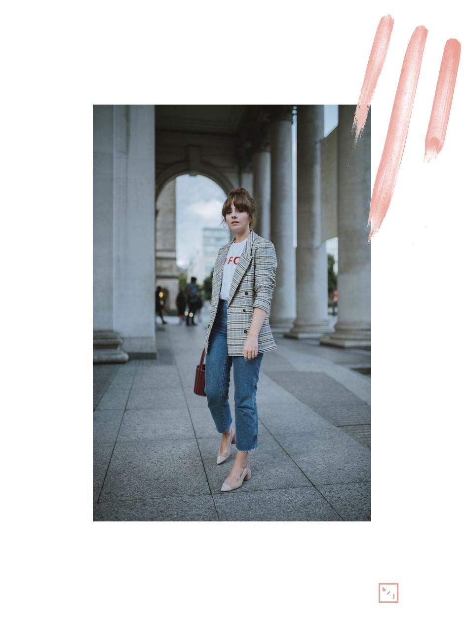 Le Blogue de Julie Tendance Blazer carreaux 6