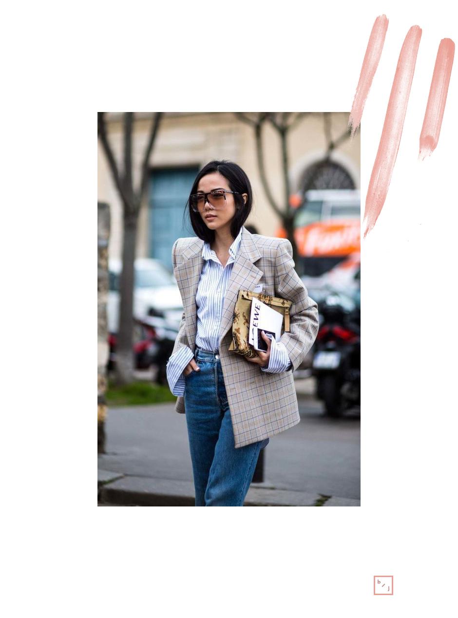 Le Blogue de Julie Tendance Blazer carreaux 7