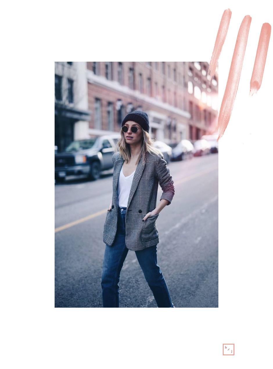 Le Blogue de Julie Tendance Blazer carreaux 9